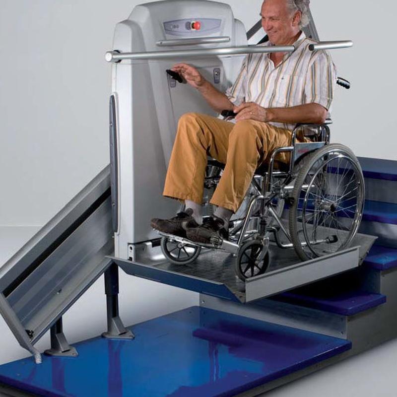 Plataforma inclinada supra línea: Aparatos movilidad de Movilidad System