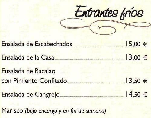 Restaurantes de cocina tradicional en Valladolid