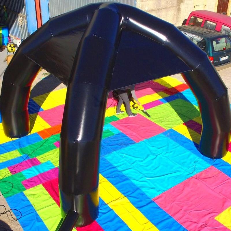 Carpa de araña : Catálogo de Hinchables Happy Jump
