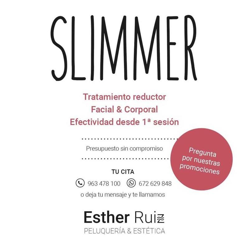 Slimmer: Servicios de Esther Ruiz Peluquería y Estética