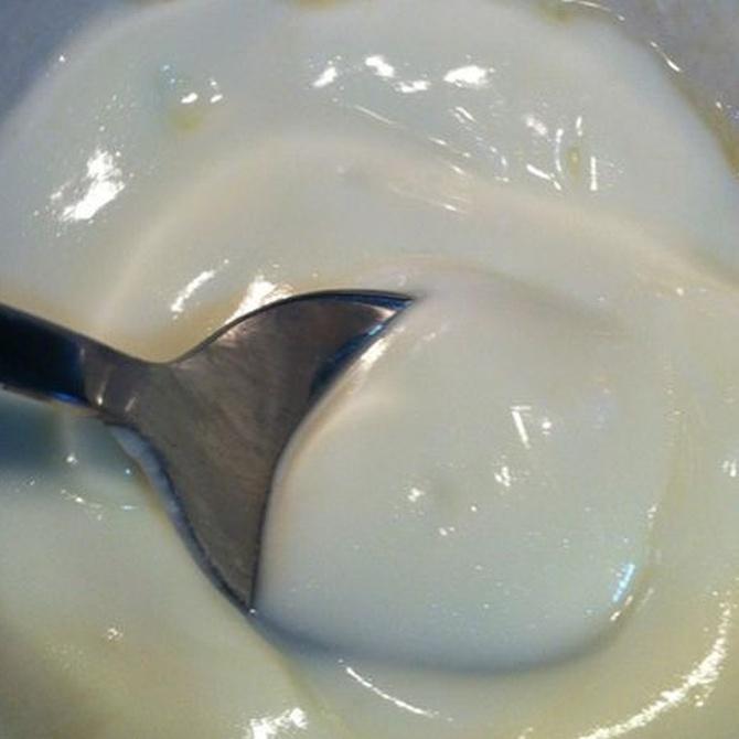 Mascarilla para la piel con clara de huevo