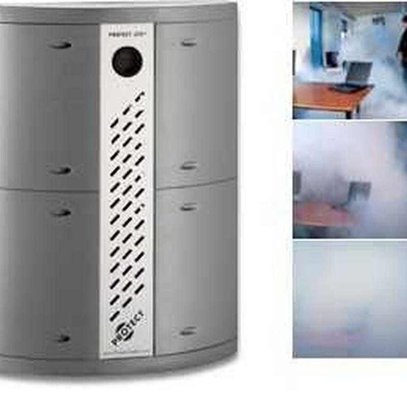 Generadores de niebla: Servicios de Cetyse Seguridad