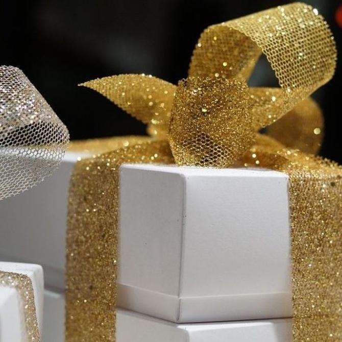 Cajas de regalo y embalajes navideños