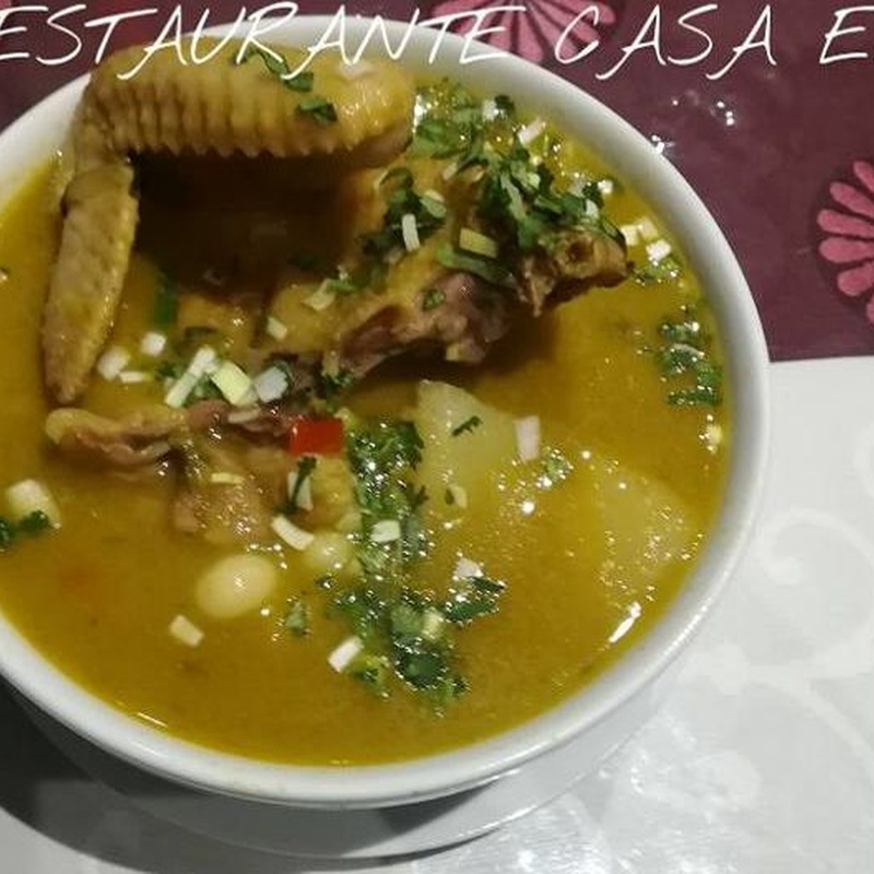 Sopas: Carta de Restaurante Casa Elías