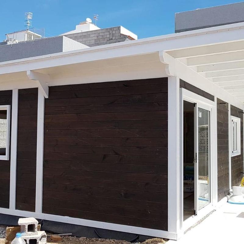 Casas de madera distintas medidas en Sur de Tenerife : Compra y venta de inmuebles de Tenerife Investment Properties