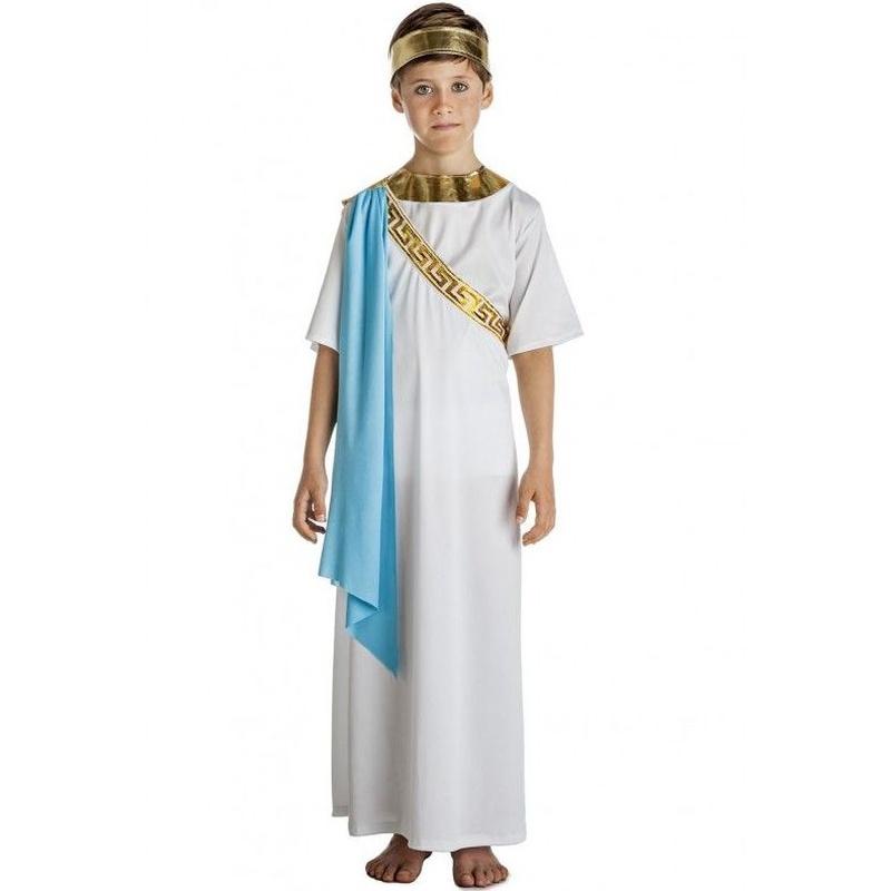 Disfraz senador griego infantil