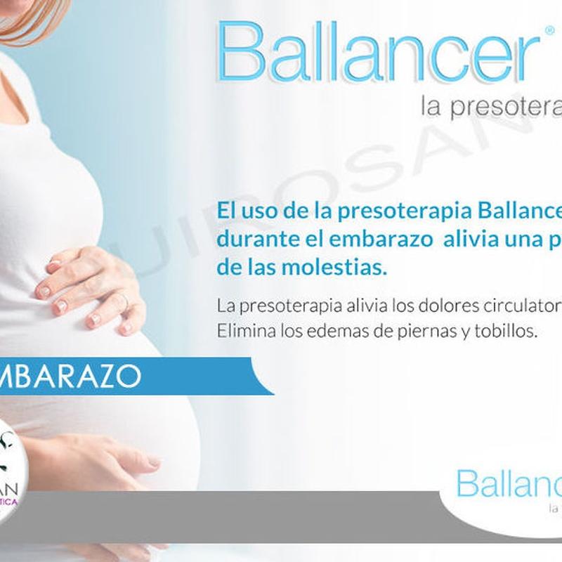Presoterapia Ballancer: Servicios de Quirosan