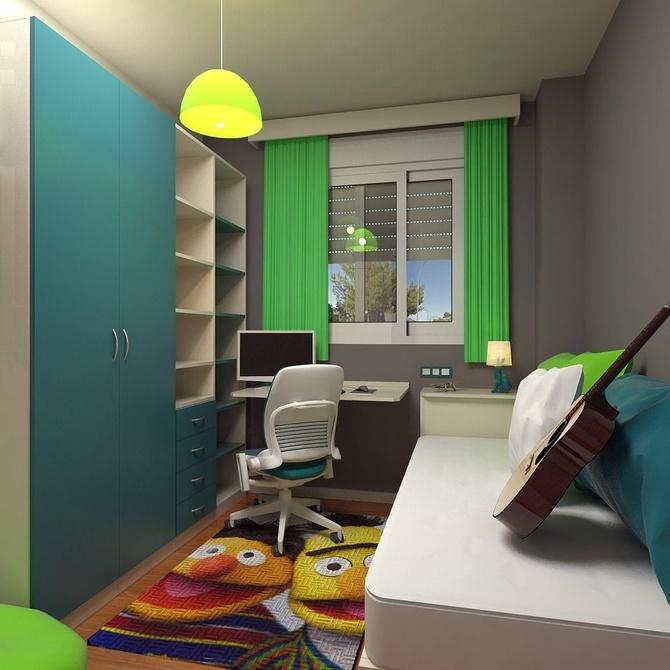 Cómo escoger un dormitorio juvenil