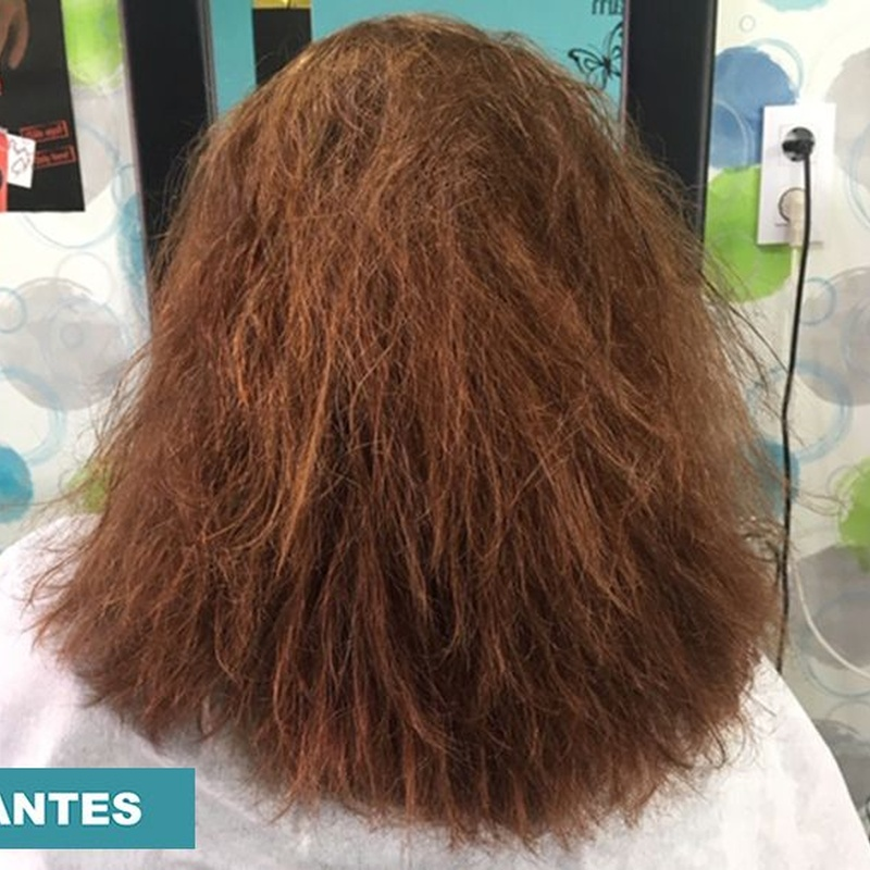 Alisado y tratamiento de queratina: Servicios de Centro de belleza Rojas