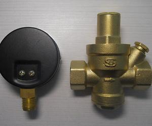 Fontanería, válvulas de reducción de presión