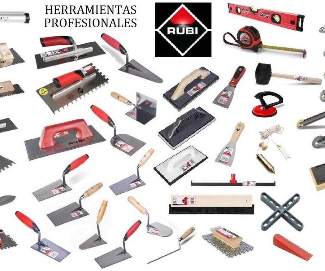 Herramientas y maquinaria para la construcción