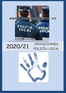 PLAZAS POLICIA LOCAL