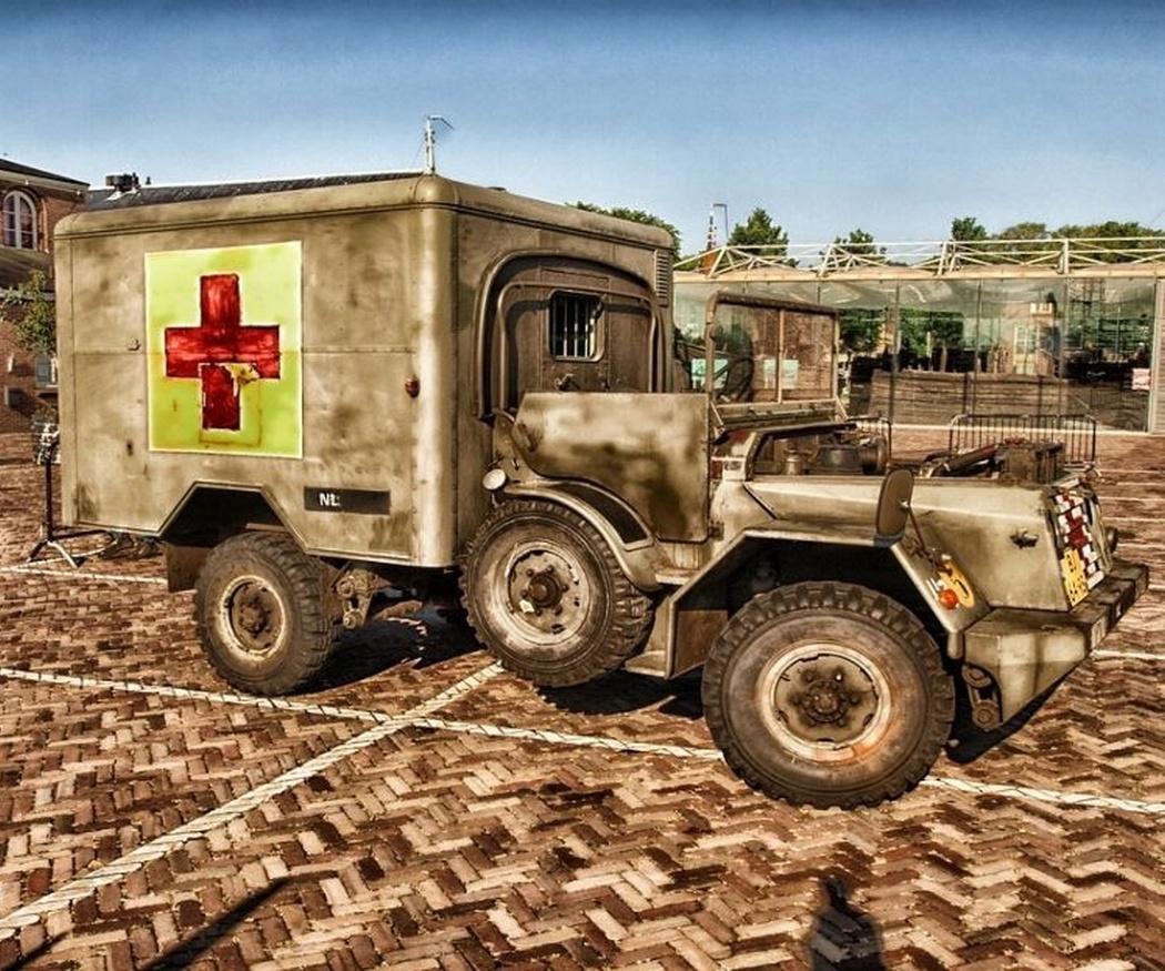 Así eran las primeras ambulancias