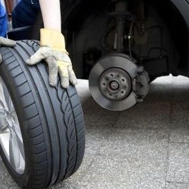 Cambio de neumáticos Nájera