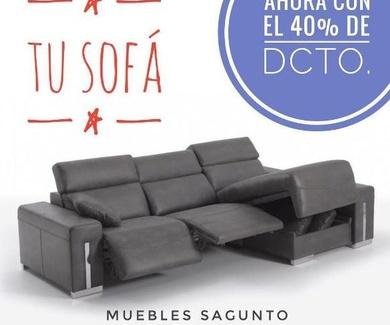 Abren en Sagunto Exposición de 550m² de Sofás y Colchones