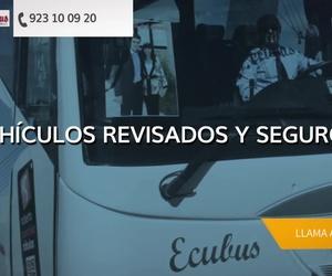 Alquiler de autobuses para excursiones en Salamanca | Ecobus
