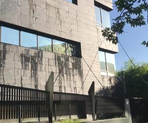 Limpieza de cristales edificios en altura