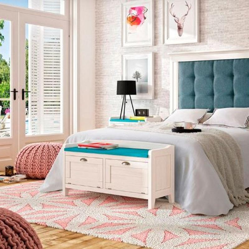Dormitorio matrimonio de estilo colonial: Productos de Gemma Nature