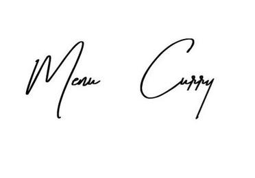 Menú Curry