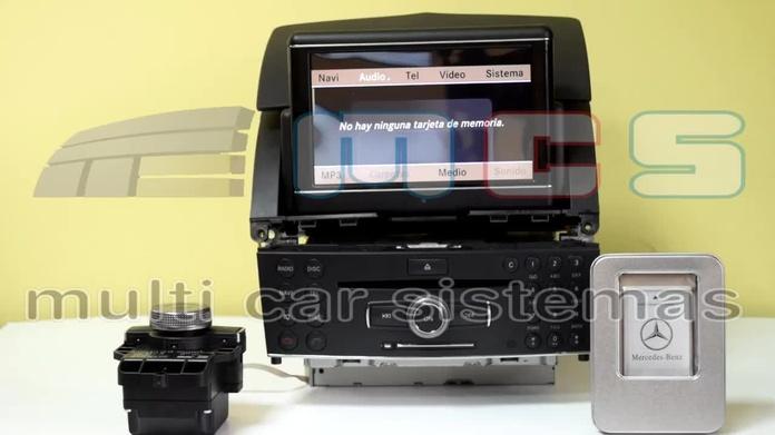 Adaptador PCMCIA SD Mercedes Comand NTG4 W204 W207 W212 X204 NTG3 W221 C216