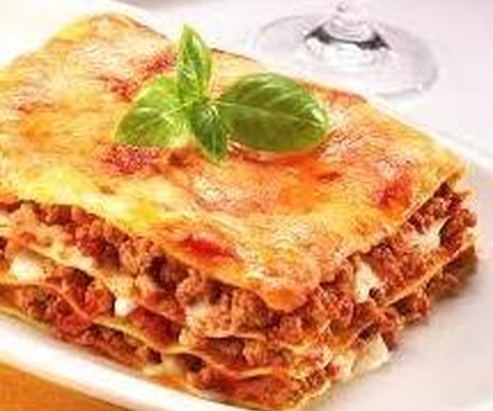 Lasaña Boloñesa: CARTA EL SEVILLANO de Restaurante Sevillano