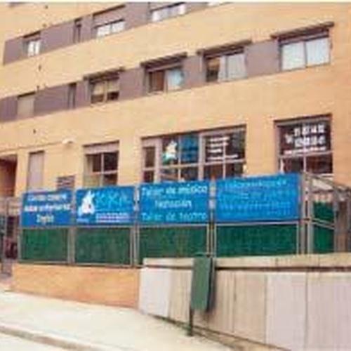 La entrada a nuestra escuela