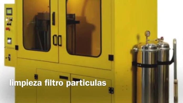 LIMPIEZA FILTRO PARTICULAS