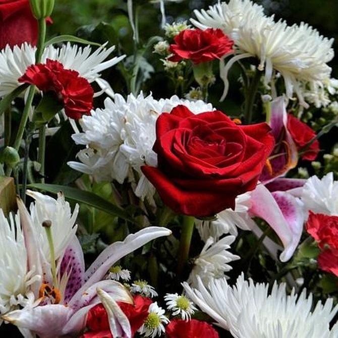Flores funerarias según las religiones