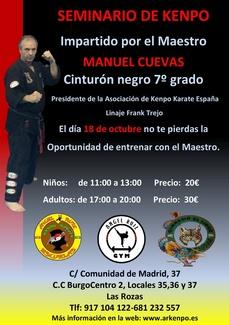 GRAN SEMINARIO IMPARTIDO POR MANUEL CUEVAS