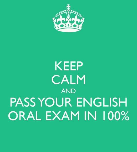 Preparación parte oral de los exámenes de Cambridge