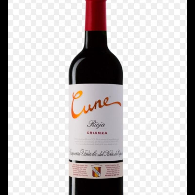 Vinos: Cune tinto (Rioja): Carta y menús de Yoshino
