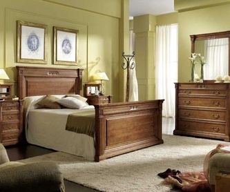 Canape con Cajones.: Catálogo de Muebles Rules