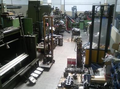Suministros para mecanizado y rectificado de motores