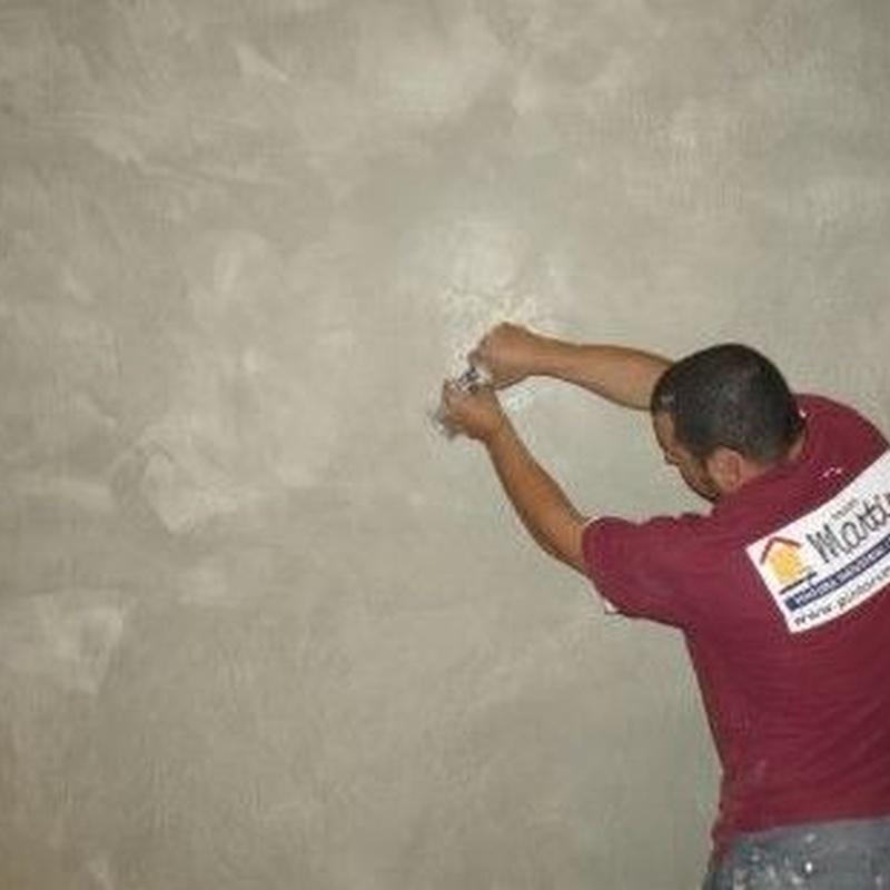 Pintors Martínez # estuco a la cal.