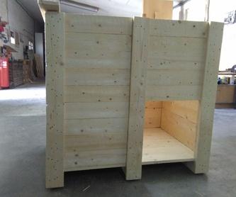 Casetas de Perro: Productos de Envases y Embalajes Anem