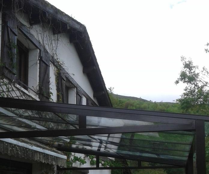 Porches: Productos de Aluminios Larratxo