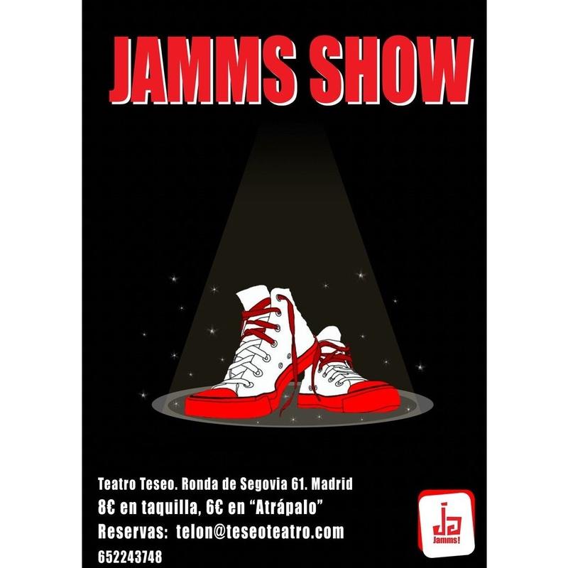 Jamms Show, espectáculo Jamming