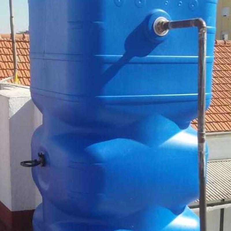 Deposito de agua Sevilla