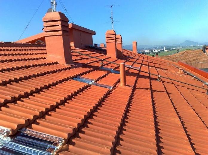 Cubiertas y tejados: Trabajos realizados de Impermungi, S.L.