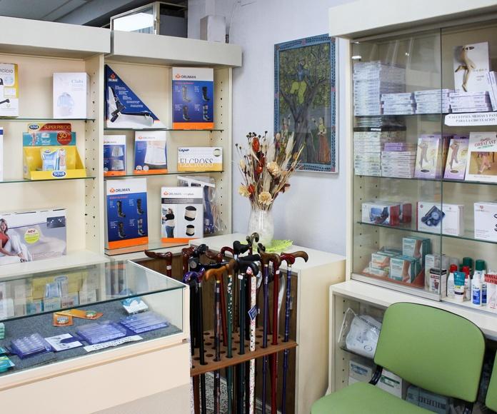 Parafarmacia: Productos y servicios   de Ortopedia Parla