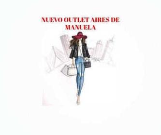 Blusa en tornasol + vaquero: Catálogo de Manuela Lencería