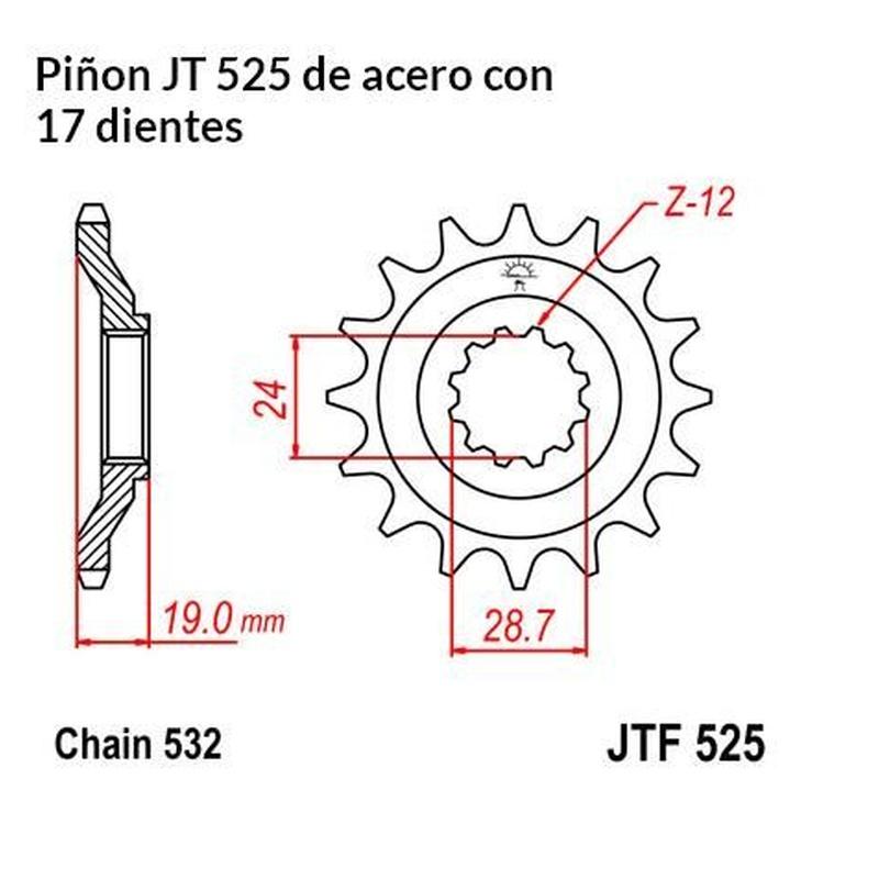 Platos piñones: Catálogo de Anca, S.L.