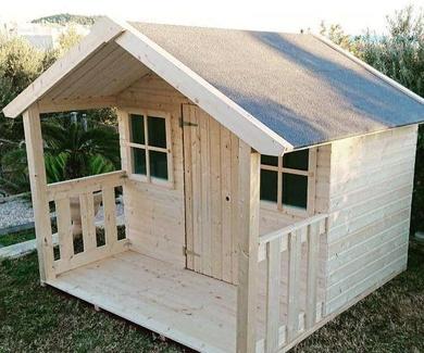 Casas de madera para exteriores