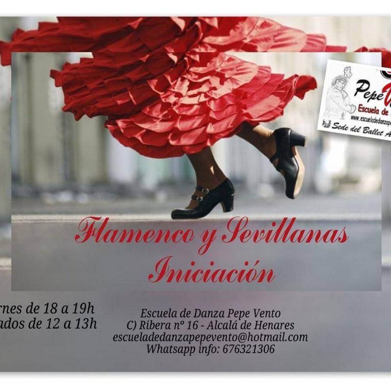 Sevillanas: Clases de Escuela de Danza Pepe Vento