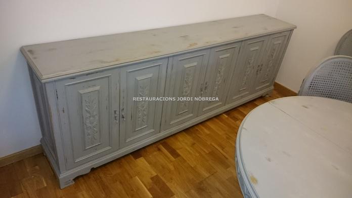 Bufet vintage, Restauracions Jordi Nóbrega