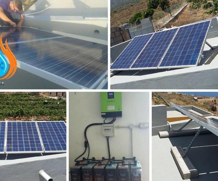 Instalación fotovoltaica: Servicios y trabajos de FGR Soluciones Energéticas