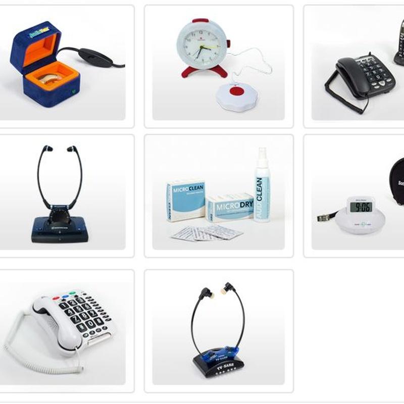 Complementos auditivos: Catálogo de Centro Auditivo Clínico Oye +