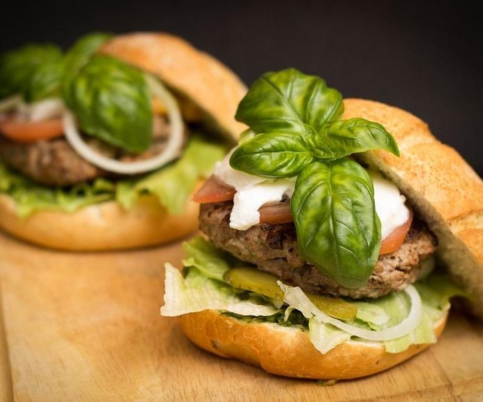 Sándwiches y bocadillos: Carta de Panach'