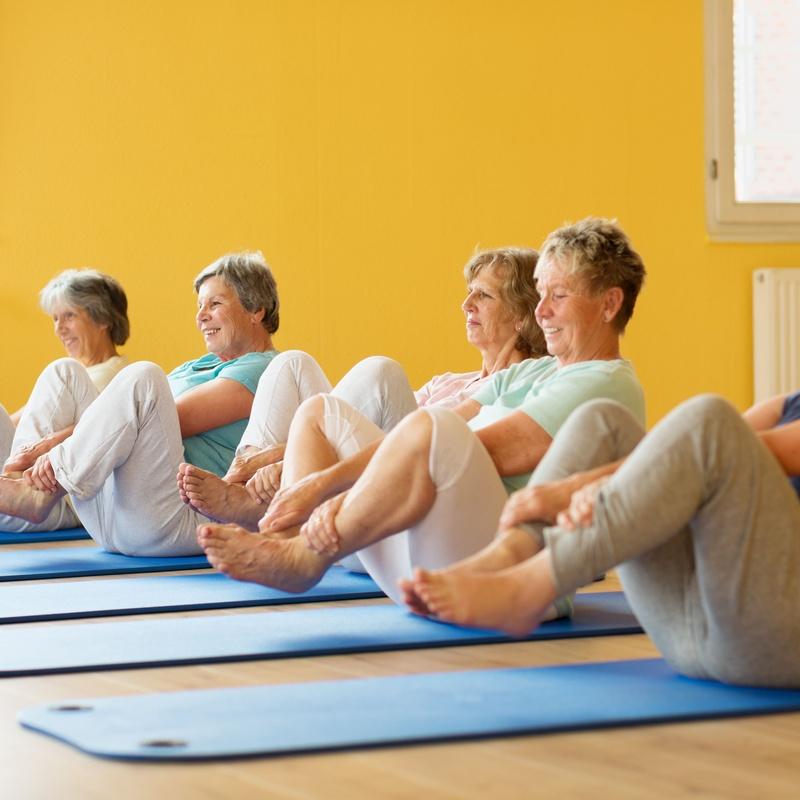 Yoga para mayores: Actividades de Ananta Yoga