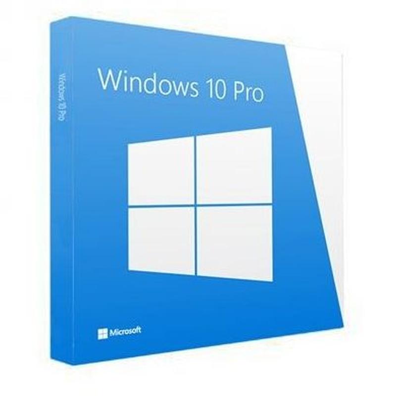 Microsoft Windows 10 Pro 64b Es OEM DVD: Productos y Servicios de Stylepc
